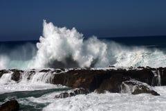Causar um crash das ondas Imagens de Stock Royalty Free