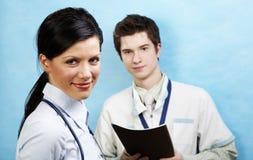 causasian νεολαίες γιατρών Στοκ Εικόνες