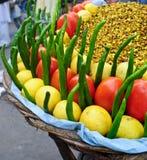 Causerie indienne de masala Photo stock