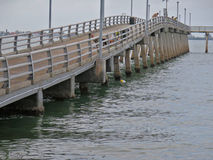 causeway Royalty-vrije Stock Foto's