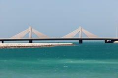 Causeway Bridge in Manama, Kingdom of Bahrain Royalty Free Stock Images