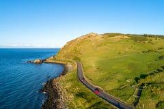 Causeway Coastal Route in Northern Ireland, UK royalty free stock photo