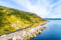 Causeway Coastal Route in Northern Ireland, UK royalty free stock images