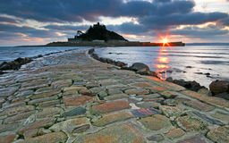 The causeway leading to St Michaels Royalty Free Stock Images
