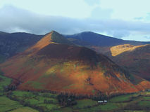 Causey Pike from Catbells Stock Photos