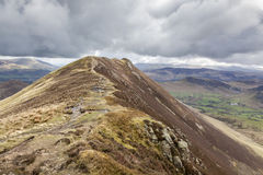 Causey Pike Walk Stock Photo