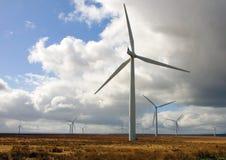 Causeymire Wind-Bauernhof stockfotografie