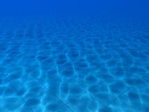 Caustics underwater. Caustics in the swimming pool Stock Images