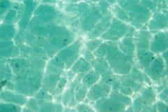 Caustique de l'eau de fond sous-marin Photo libre de droits