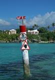 Cautela, segno della tartaruga Fotografie Stock