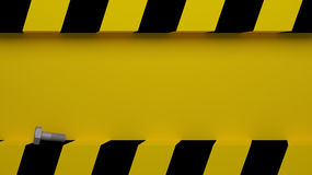Caution background Stock Images