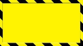 Caution background Stock Image