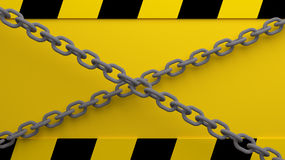Caution background Royalty Free Stock Photos