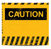 Caution banner Royalty Free Stock Photos