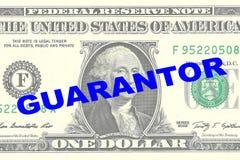 Caution - concept financier Images libres de droits