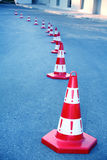 Caution cone sign Royalty Free Stock Image
