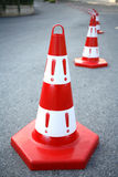 Caution cone sign Royalty Free Stock Photo