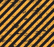Caution grunge line Stock Photography