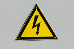 Caution -High Voltage! Stock Photos