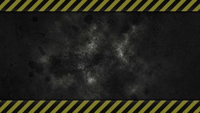 Caution Industrial Background stock video