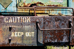 Caution Keep Out Stock Image