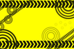 Caution lines background Stock Images