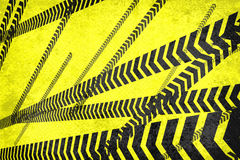 Caution lines background Royalty Free Stock Photography
