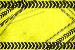 Caution lines background Stock Photography