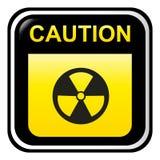 Caution - Radioactive Stock Image