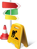 Caution Sign Stock Image