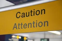 Free Caution Sign Stock Photos - 47711693