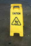 Caution Stock Photography