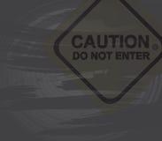Caution Royalty Free Stock Photo