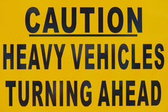Caution Signboard Royalty Free Stock Photo