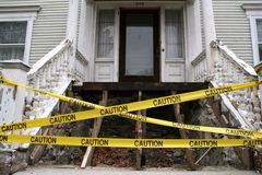 Caution Tape Stock Photo