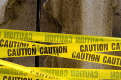 Caution Tape Stock Image