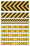 Caution tape Royalty Free Stock Photo