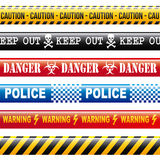 Caution tapes Royalty Free Stock Photos