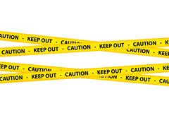 Caution Tapes Stock Images