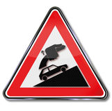 Caution always tighten handbrake Royalty Free Stock Image