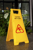 Caution Wet Floor Stock Photos