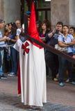 Cautivo EL Jesús, στην πομπή της ιερής εβδομάδας στη Μαδρίτη, απρίλιος Στοκ φωτογραφίες με δικαίωμα ελεύθερης χρήσης
