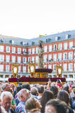 Cautivo EL Jesús, στην πομπή της ιερής εβδομάδας στη Μαδρίτη, απρίλιος Στοκ Φωτογραφία
