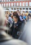 Cautivo EL Jesús, στην πομπή της ιερής εβδομάδας στη Μαδρίτη, απρίλιος Στοκ Εικόνες