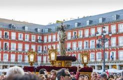 Cautivo Jesús el, в шествии святой недели в Мадриде, апрель Стоковая Фотография RF