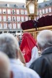 Cautivo Jesús el, в шествии святой недели в Мадриде, апрель Стоковые Фото