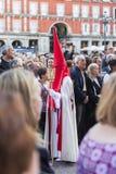 Cautivo Jesús el, в шествии святой недели в Мадриде, апрель Стоковое Изображение