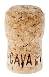 Isolated Cava Cork Royalty Free Stock Images