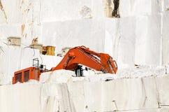 Cava di marmo Fotografie Stock Libere da Diritti
