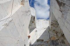 Cava di marmo 4 immagini stock libere da diritti
